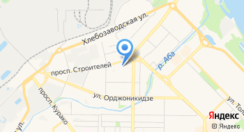 Новокузнецкий хоккейный клуб Металлург на карте