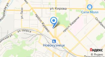 Салон красоты Сибирский цирюльник на карте
