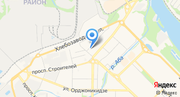 УФМС Российской Федерации по Кемеровской области в Центральном районе города Новокузнецк Отделение №1 на карте