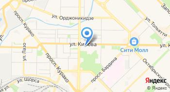 Новокузнецкий драматический театр на карте