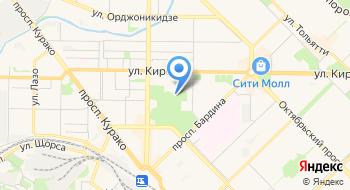 Городской парк имени Гагарина на карте