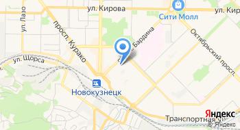 Инспекция ФНС России по Центральному району г. Новокузнецк на карте