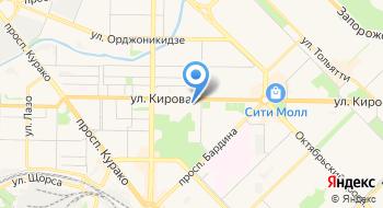 Отдел ФСБ РФ в г. Новокузнецке на карте