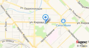 Муниципальная информационно-библиотечная система города Новокузнецка на карте