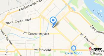 Сибирский спас на карте
