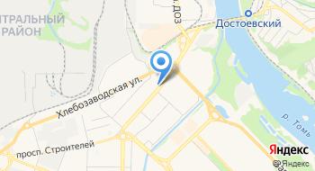 Филиал ГБУЗ Дезинфекционная станция в г. Новокузнецке, отдел камерной дезинфекции на карте