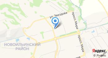 УПФР в Новоильинском районе г. Новокузнецка Кемеровской области на карте