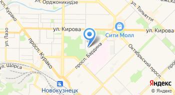 Общежитие СибгГИУ на карте