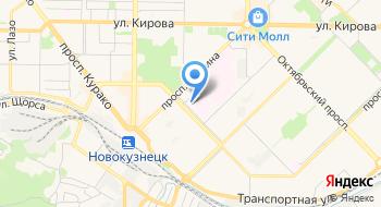 Кемеровский областной центр крови Новокузнецкий филиал на карте