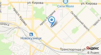 Новокузнецкий клинический онкологический диспансер на карте