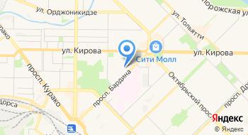 Сибирский государственный индустриальный университет, институт дополнительного профессионального образования на карте