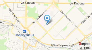 Управление образования Администрации Новокузнецкого муниципального района на карте