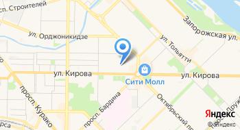 ОСП по Центральному району г.Новокузнецка на карте
