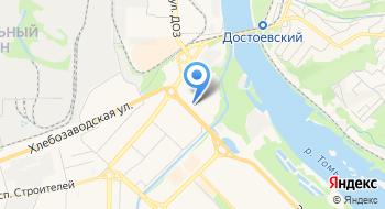 Кемеровская региональная молодёжная спортивная общественная организация Земля прыжков на карте
