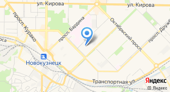 Отдел МВД России по Новокузнецкому району на карте