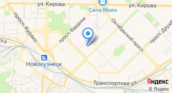 Администрация Новокузнецкого района на карте
