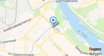 Рустов Кузнецк на карте