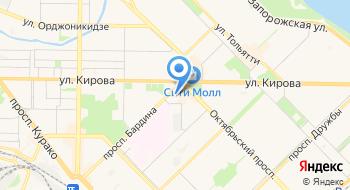 Городской врачебно-физкультурный диспансер МЛПУ на карте