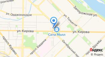 Бильярдный клуб-бар Кураж на карте