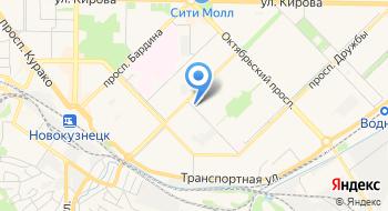 Репетитор по английскому языку в Новокузнецке на карте