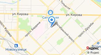 Отдел государственной статистики в г. Новокузнецке на карте