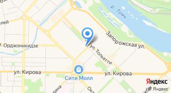 Новокузнецкое отделение Сибнииуглеобогащение на карте