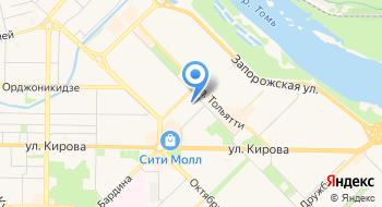 Ростехнадзор, Сибирское управление, территориальный отдел на карте