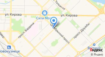 Курьерская службы доставки на карте