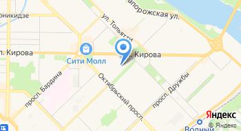 Лицей №34 г. Новокузнецк на карте