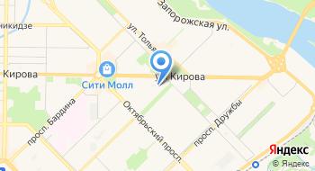 Автозалог на карте