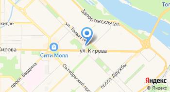 Комитет по физической культуре на карте