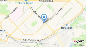 Городская клиническая больница № 2, поликлиника № 2 на карте