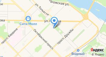 Сибирский Хлеб, производственный цех на карте
