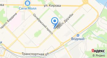 Интерлок-Н на карте