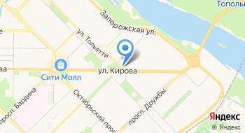 Веко на карте