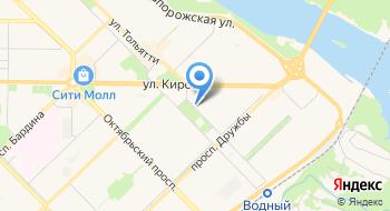 Отдел полиции Левобережный Управления МВД России по г. Новокузнецку на карте