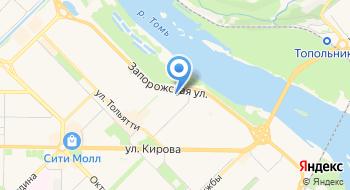 Финтекс на карте