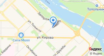 Геодезический центр на карте