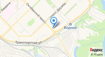 Кузбасский деловой союз на карте