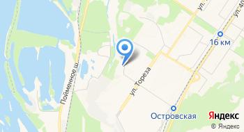 ФНС, Территориально обособленное рабочее место Заводской и Новоильинский районы на карте