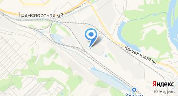 Новокузнецкая нефтебаза на карте