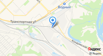 Спортивная компания Кузбасса на карте