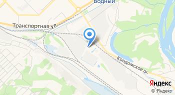 Новомет на карте