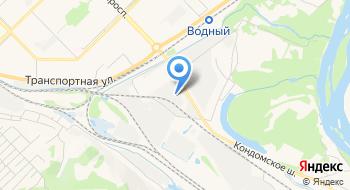 Новокузнецкое грузовое автотранспортное предприятие № 2 на карте