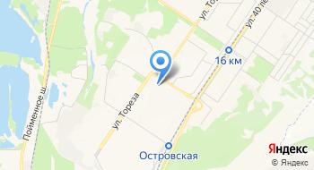 Автобусный парк на карте