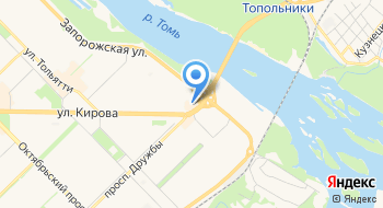 Сибирские сети на карте