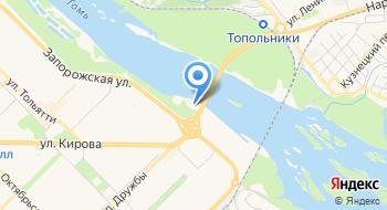 Поисково-спасательная служба города Новокузнецка на карте