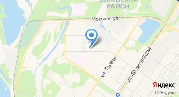 Государственное профессиональное образовательное учреждение Кузнецкий индустриальный техникум на карте