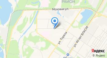 Профессиональное училище №50 Общежитие на карте