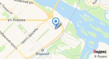 Кузнецкая коммерческая телефонная сеть на карте